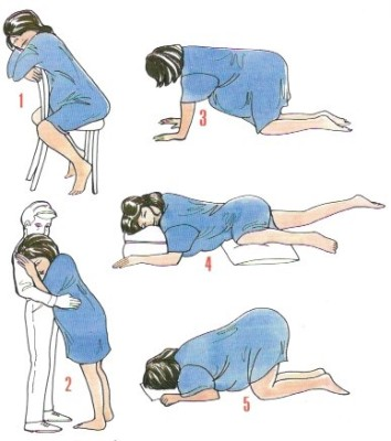 Labor Positions To Ease Your Pain